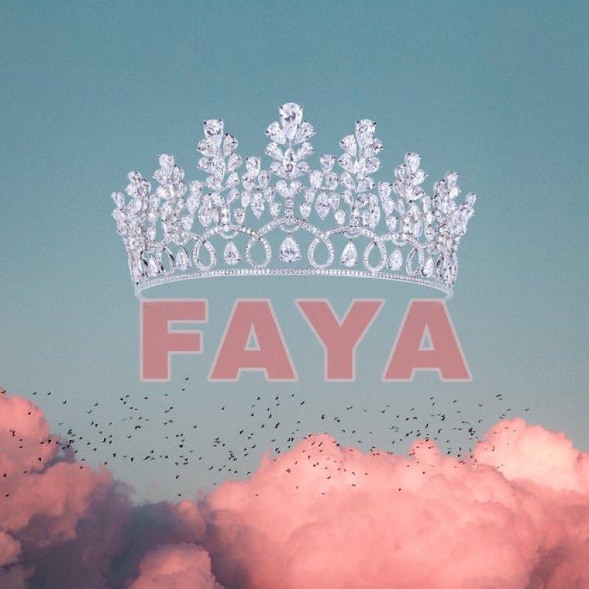 Miss Faya le choix du peuple  #Fayateam https://t.co/PJEwdNflSq