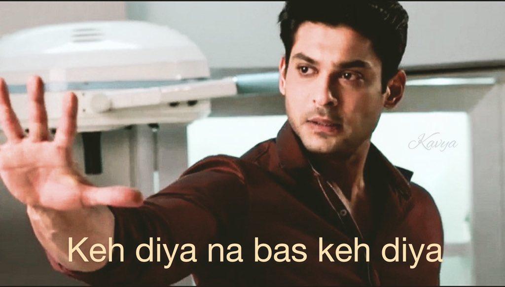 Meme mode on#SidharthShukla #sidharthXmemespic.twitter.com/C8HWFWPKYP