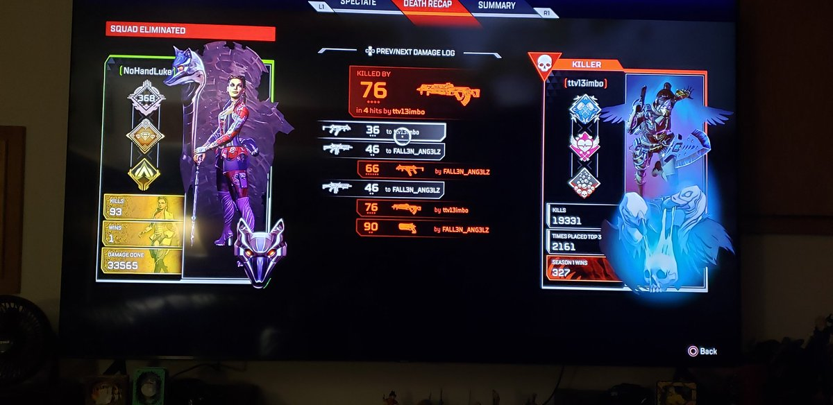 How am I supposed to compete and win against people with 20k kills and over 300 wins. And that's just his wraith. You know my top kills with a character? Pathfinder with 1900, THATS FROM OG TO SEASON 5. I dont wanna play against preds. They're has to be a better way #ApexLegendspic.twitter.com/z5I3ZShBRb