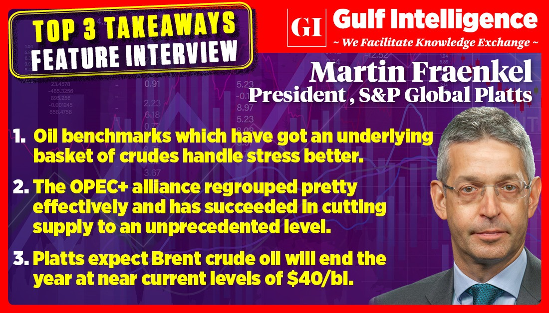 #HalfTimeTalk: Top 3 Takeaways   Full Interview Published today at 12pm (UAE Time)  #OOTT #Oil #economy #benchmark #Brent #crudeoil #OPEC @SPGlobalPlatts https://t.co/ZpafKn0MR6