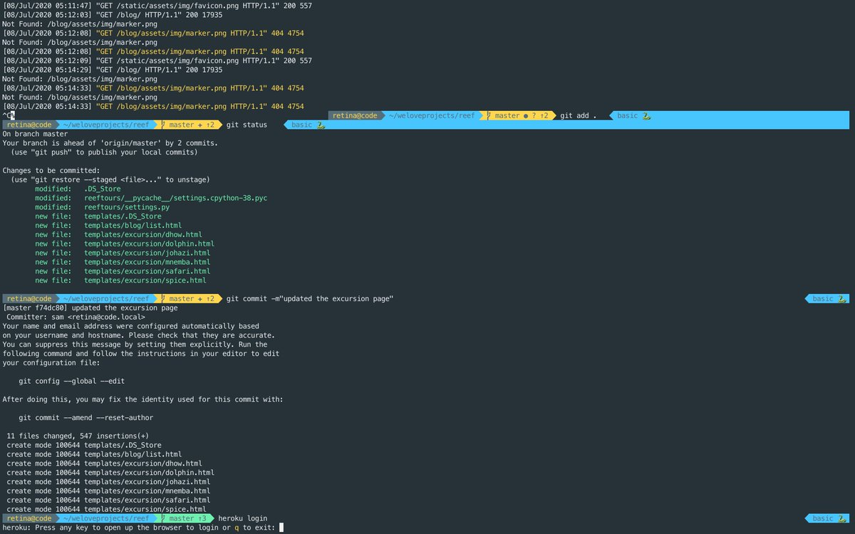 iterm2 is the best terminal tool for any developer