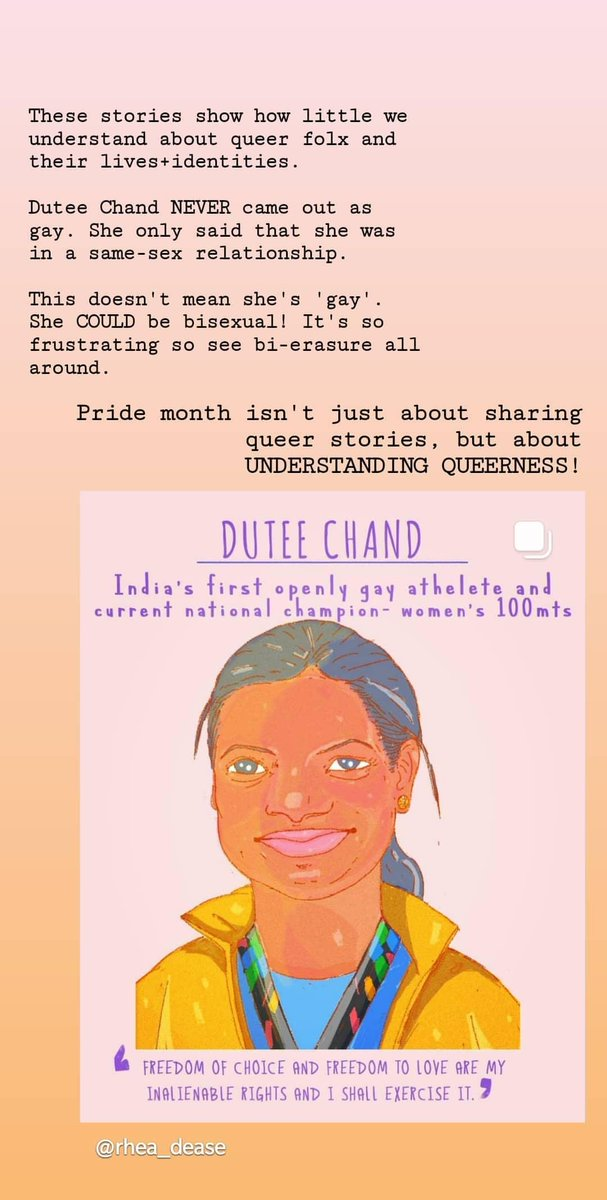 It's not important to just read about queer stories, but it's also important to understand how queer people want to be seen+understood, and HOW they want their stories to be told!  Else it just becomes a gimmick. Sigh.   #PRIDE2020 https://t.co/yyDC2V0KN7
