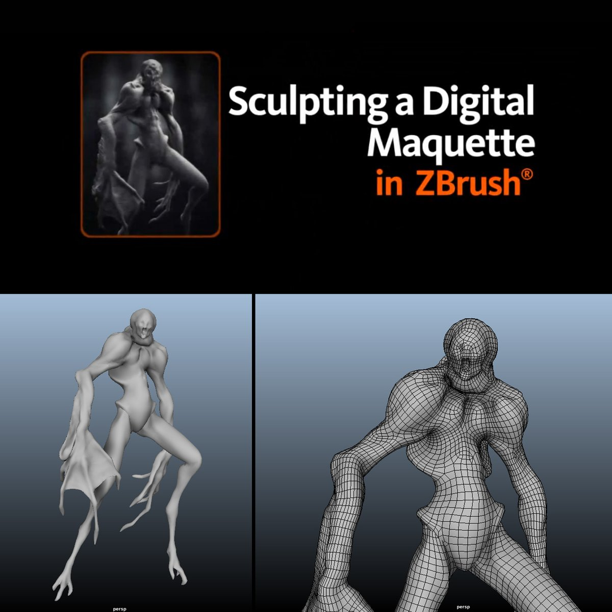 Art Study .01 Learning Zbrush for creating a digital maquette  •Zbrush•  #3dstudy #3D #3dartist #adventure #learningpath #cg #vfx #zbrush #maquette #sculpting #digital #tocreative #to-creative https://t.co/CghuIpjb5G