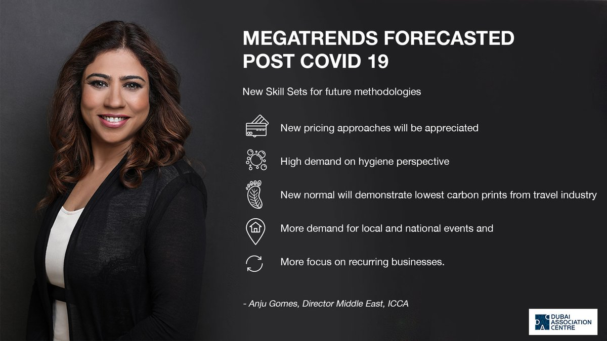 Eager to learn what trends will emerge post #COVID-19? @ICCAMEAST, Director Middle East, @ICCAWorld, opens up on the megatrends forecasted post COVID-19. #association #community #forecast #inthistogether https://t.co/4CSiJQtJkR