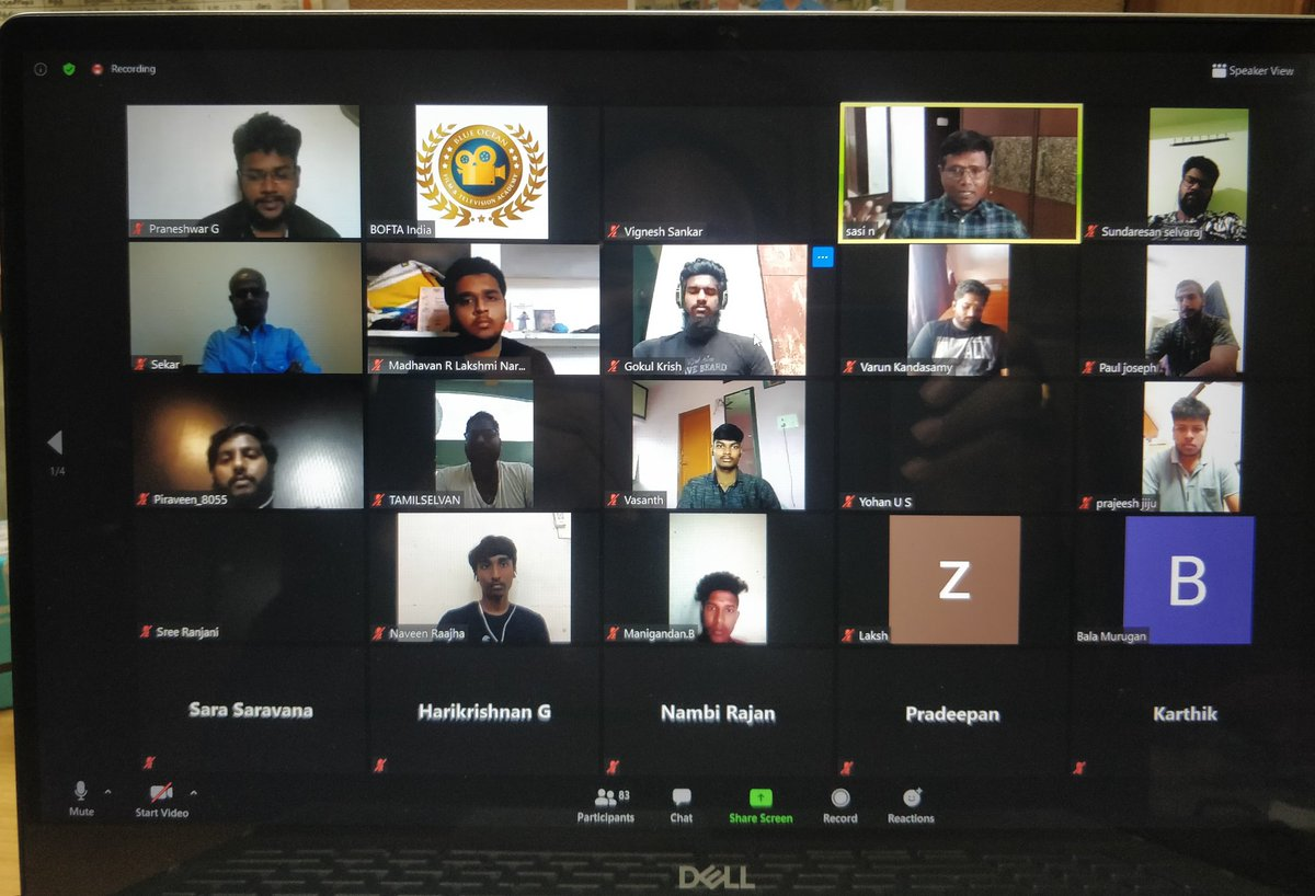 Very happy with over 80 participants in our webinar by Director #Sasi sir now. Hope it will be useful to students 👍👍👍