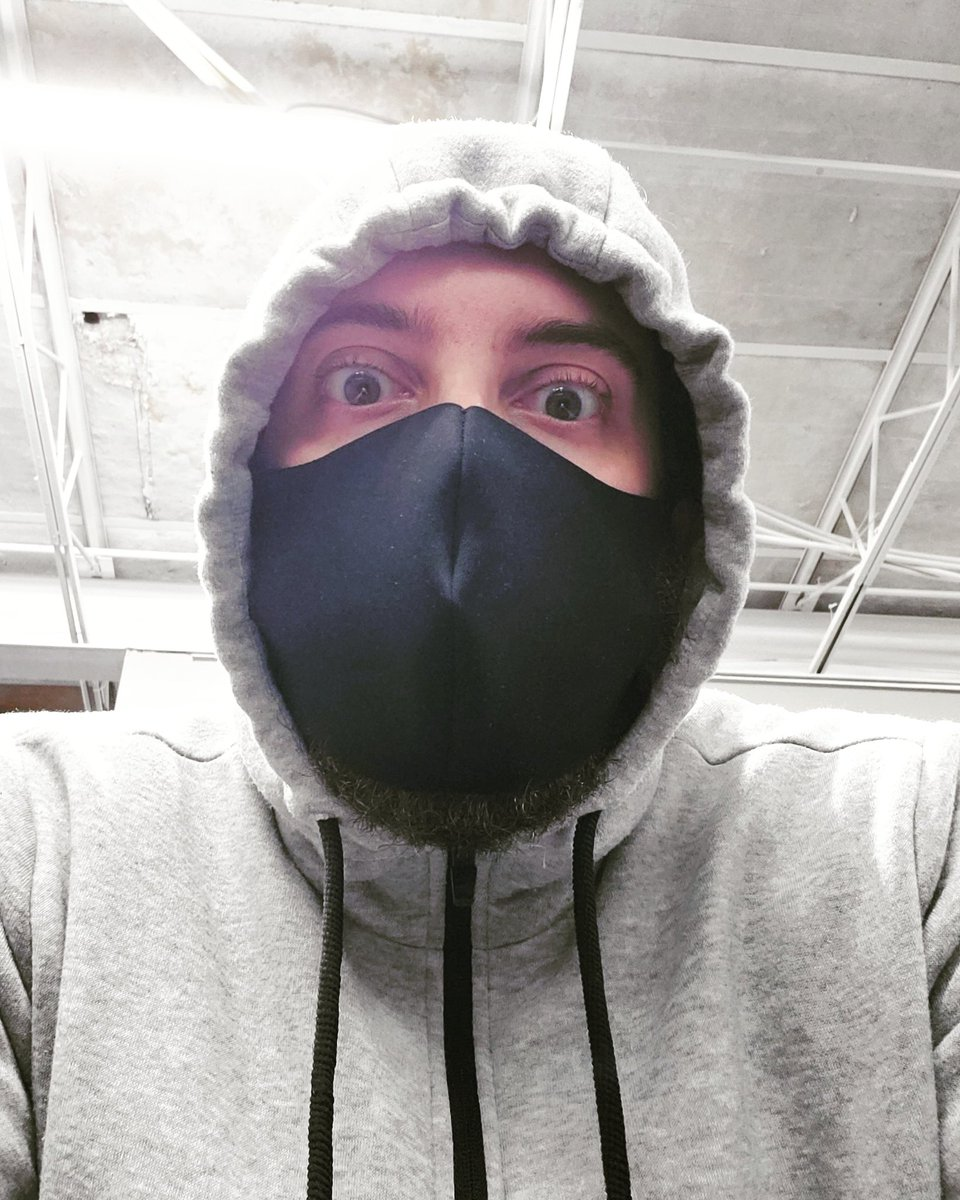 Working Out In A Mask Makes Me Feel Like A Bad Guy In An Action
