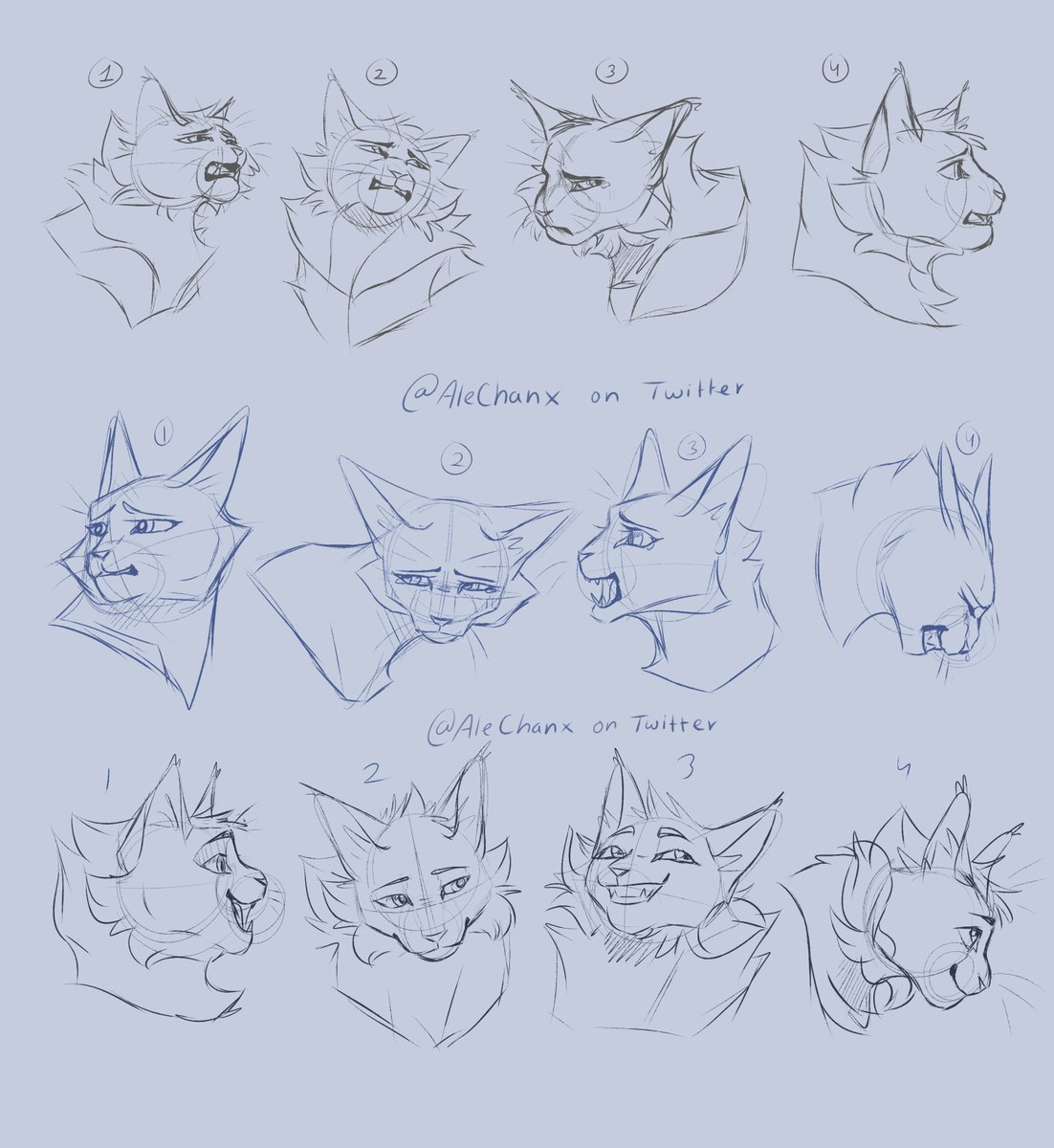 Practicing some #Greystripe and #Silverstream dramatic expressions for a collab with a friend!!   #warriorcats #wc #expressionism #art #arte #digitalartwork #cats #Artist #characterdesign #Character @theclandompic.twitter.com/rYCoQ7crmP