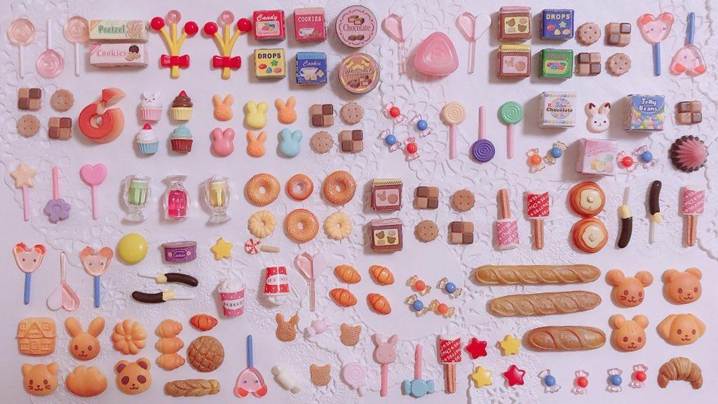 シルバニアのかわいい小物の中に本物のお菓子が3つ隠れてるよ!👀💕  さあ、ど〜れだ!🍓🍬 🟡🍫🍓🍫 https://t.co/woe9bdsFum