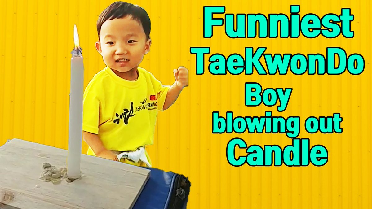 Funniest boy doing TaeKwonDo to blow out a candle ☞Link video:   https:// youtu.be/SogJmrRVc5o    <br>http://pic.twitter.com/2mY51XrmPd