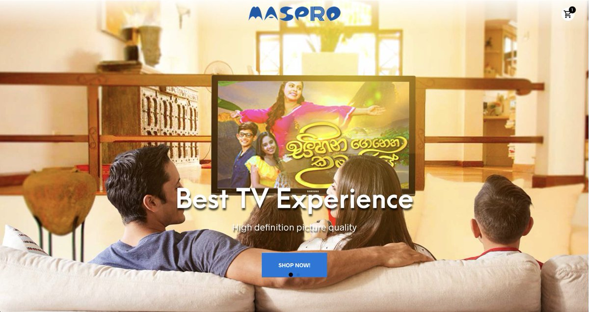 Spending quality time with family and friends? Get the best TV Experience by using http://www.maspro.lk antennas.   Online Store developed and powered by http://www.tectera.com  #eCommerce #WebsiteDevelopment #antennas #MasPropic.twitter.com/p5lZIWIB8W