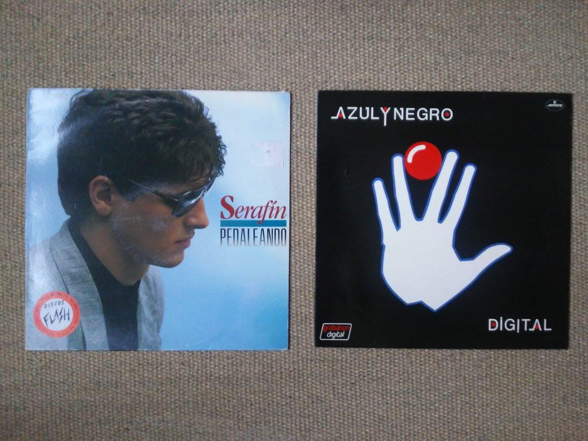Pedaleando de Serafín Zubiri y Digital de Azul y Negro. Dos joyas de vinilos que juntas incluyen tres canciones de la Vuelta Ciclista a España:  Me estoy volviendo loco (82) No tengo tiempo (83) Pedaleando (88) https://t.co/HlwnIKaQGj