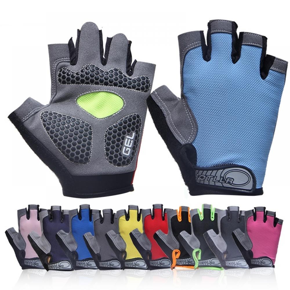 #mondaymotivation #fitnessfriday Gel Padded Half Finger Sports Gloves