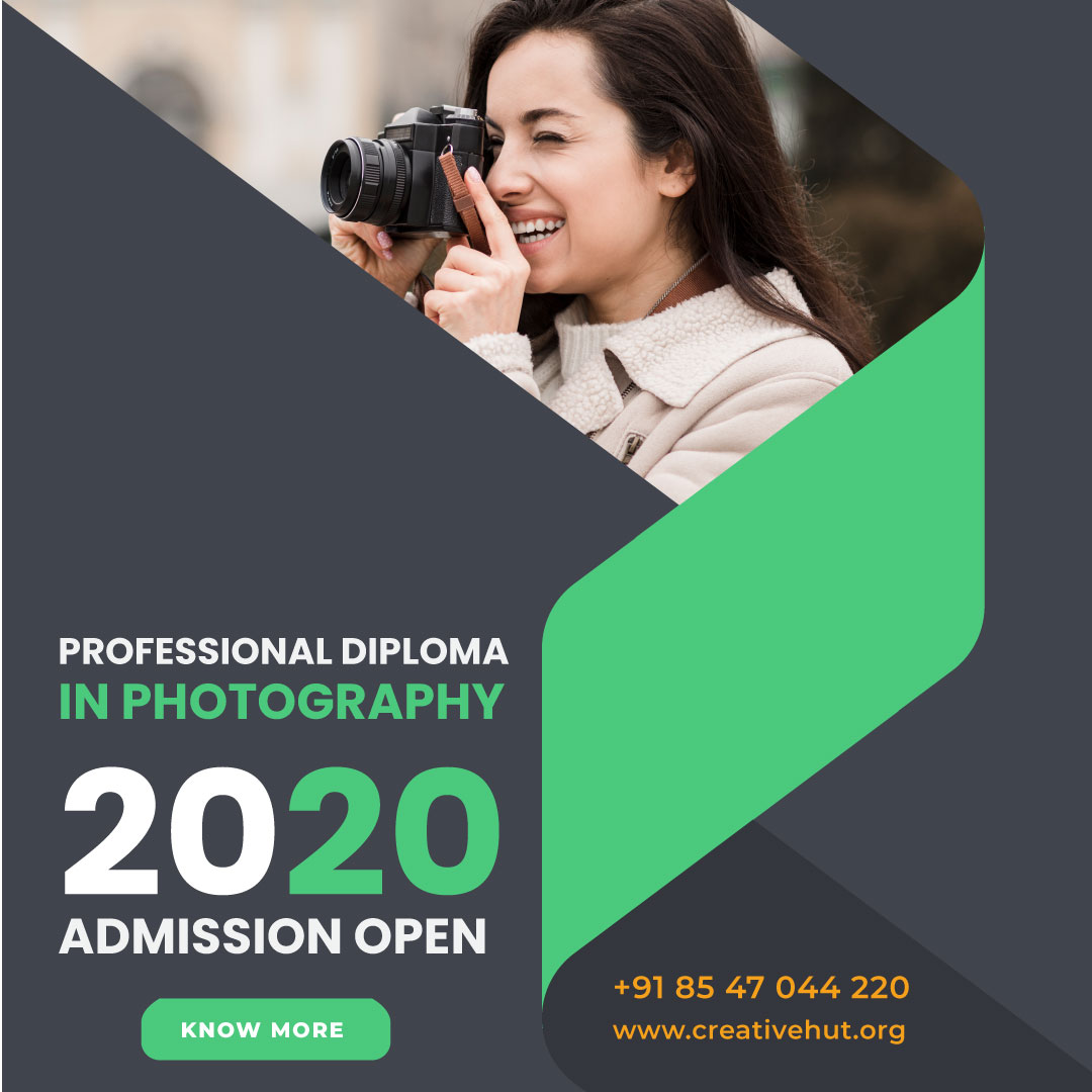 Turn your passion in to Profession. Call us or Visit our Website to learn more. Admission Open for 2020 Batch. Register Now.  Apply Now.  Call or Whatsapp- : +91 8547044220 |   #photo #like #photographycollege #likeforlike #photography #photographycourse #camera #creativehut