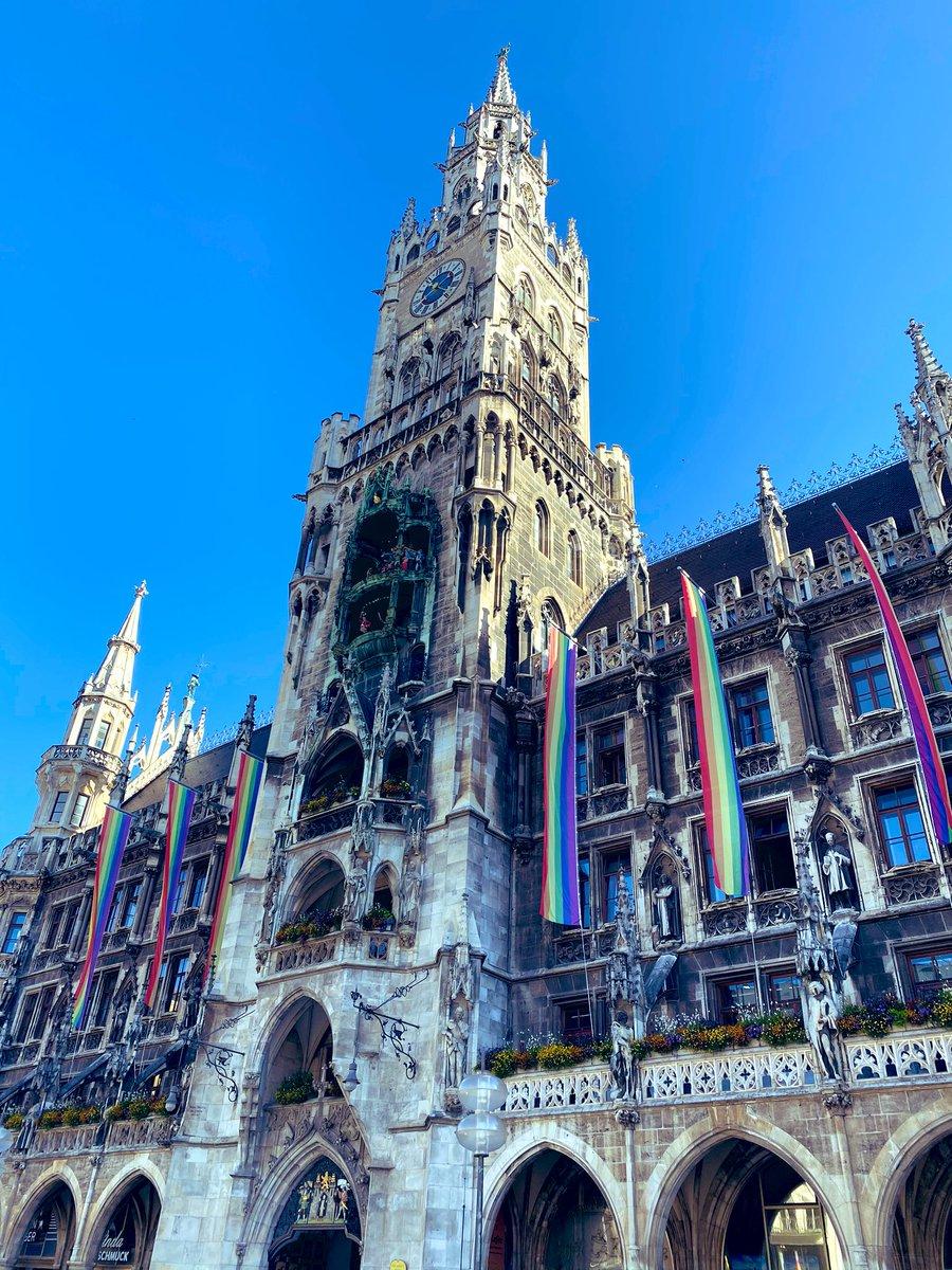 #München ist bunt 👍. #Vielfalt #LoveIsLove #PRIDE2020 https://t.co/uK0lMWPuoN