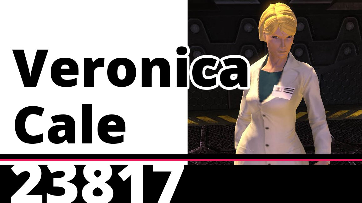 I wish Veronica Cale from DC Universe Online was available as a DLC fighter. pic.twitter.com/Wd5HsW9BQ5