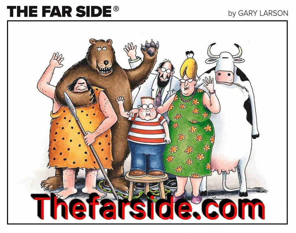 The Farside is back! Extremely funny!  #comics #online #thefarside #farside #garylarson #humor #funny #jokes