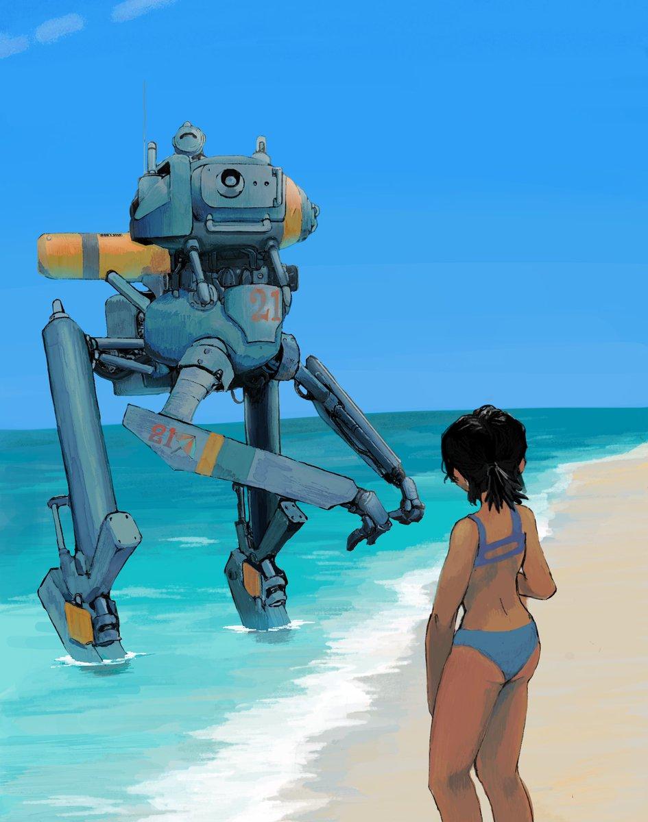 Summer  #beach #summer #mechpic.twitter.com/7zNABwGpyn
