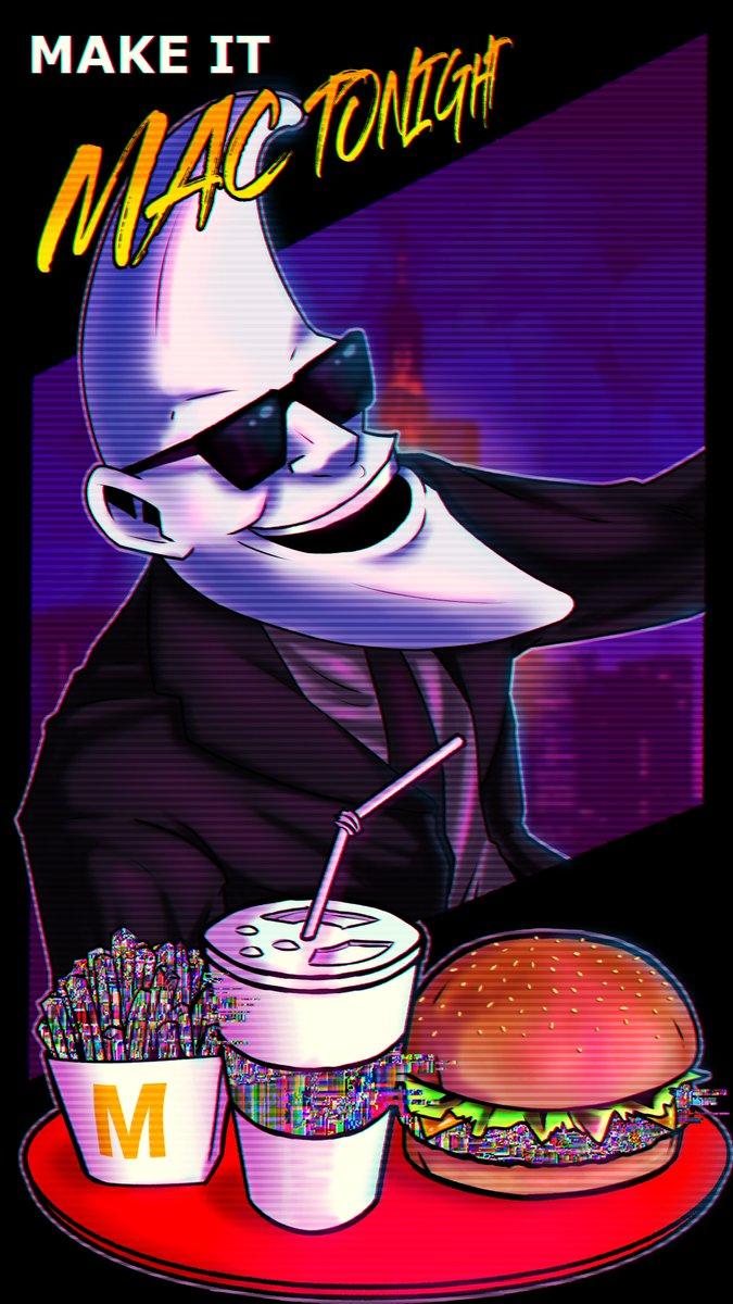 Bring Moonman back again.  @McDonalds   #Moonman #SAINTPEPSI #enjoyyourself #McDonald #burgers  #fastfood #mactonight #comic #aesthetic #vaporwave #synthwave #cyberpunk #Retro #80spic.twitter.com/Fun7cl1RMX