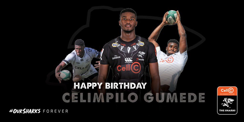 Wishing Mpilo Gumede a very happy birthday! We hope that you have a fin'tastic day!🦈 #OurSharksForever
