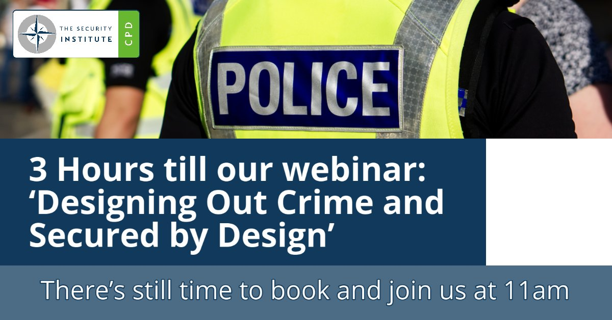 You don't want to miss our informative webinar with Emma Snow MSyI and Alfie Hosker MSyI at 11am, book to join us here: https://t.co/eOB1rVjySn https://t.co/5WaZGnjGtx