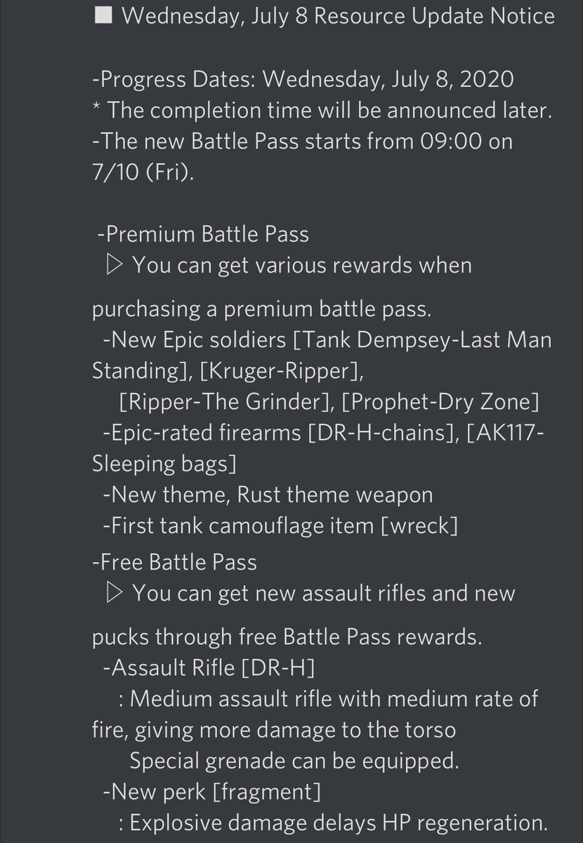 #CODMobile  Season 8 Patch Notes! Thanks @sSlashspic.twitter.com/hXd6eVXYOD