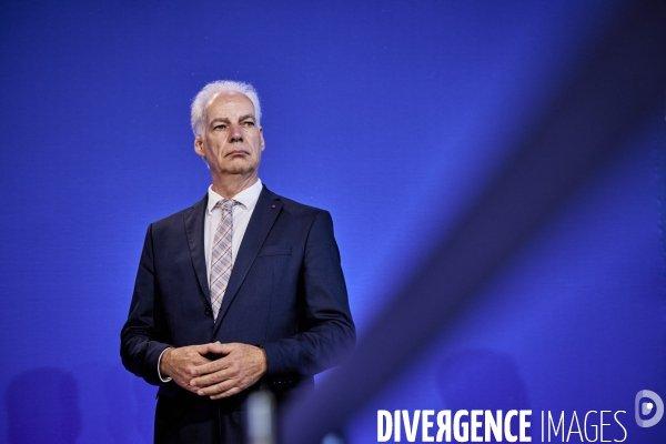 Alain Griset, nouveau ministre délégué aux PME du gouvernement #photo © Bruno LEVY bit.ly/3iDO0Sh