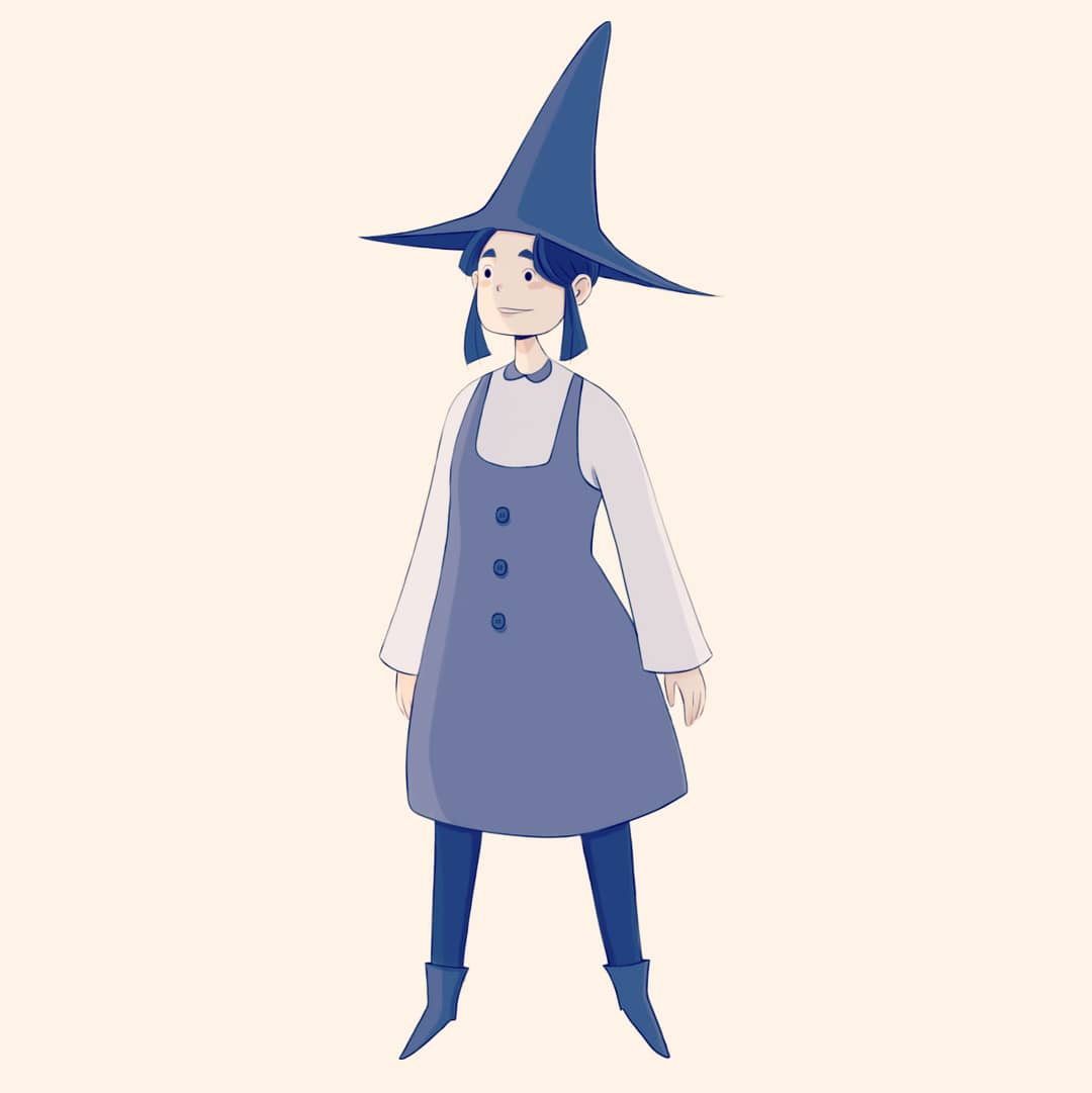 Been trying to learn more about character design by taking #schoolism courses. Here is one of my characters xD #myart #illustration #characterdesign #witch #Character #doodle #digitalartwork pic.twitter.com/TDKu8Hn5uL
