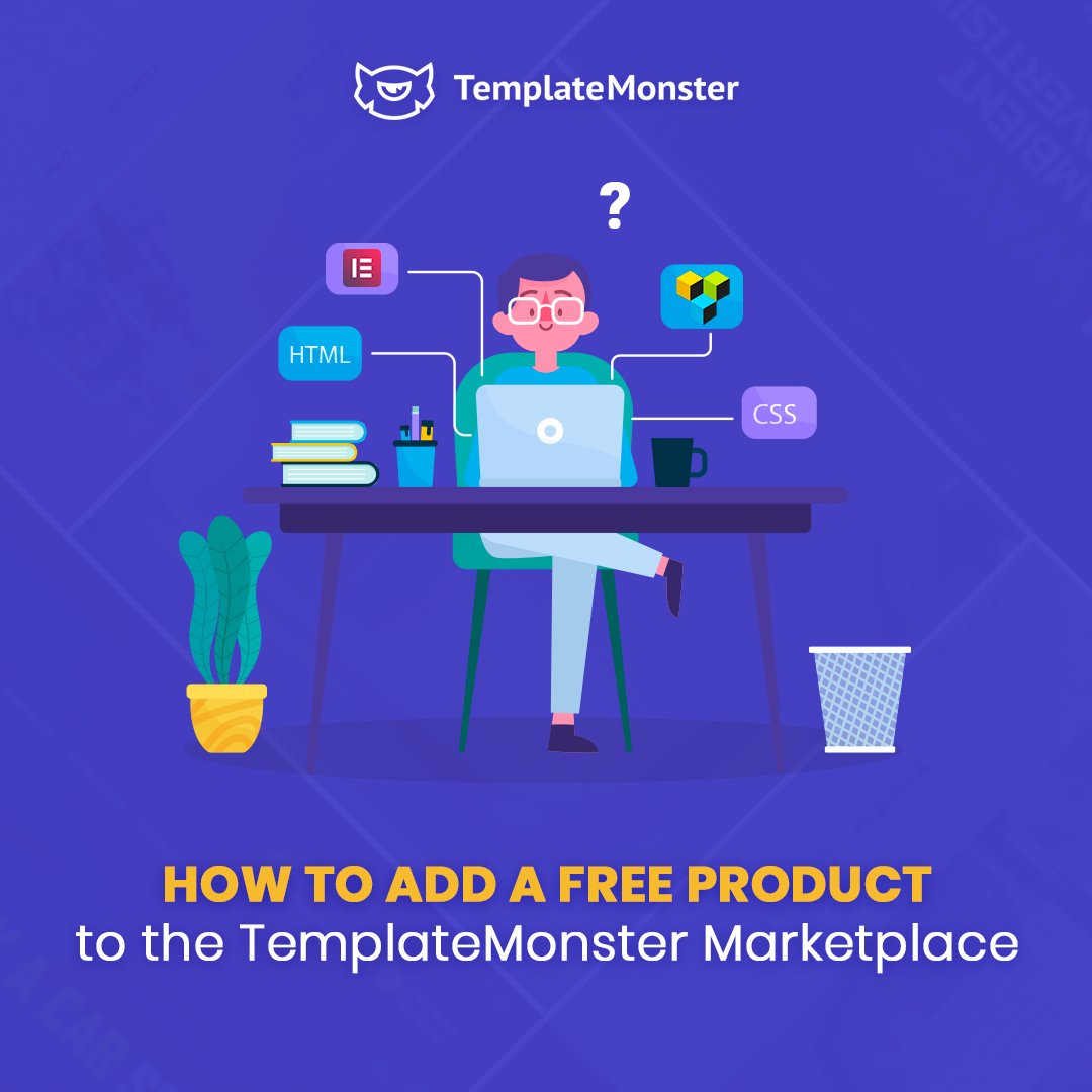 🚀If you want to add a free product to the TemplateMonster marketplace, you need to know what requirements you should follow, and how to promote your goods.  Use our step-by-step guide - https://t.co/iP1iCA12RU https://t.co/XYaMKBVjTw