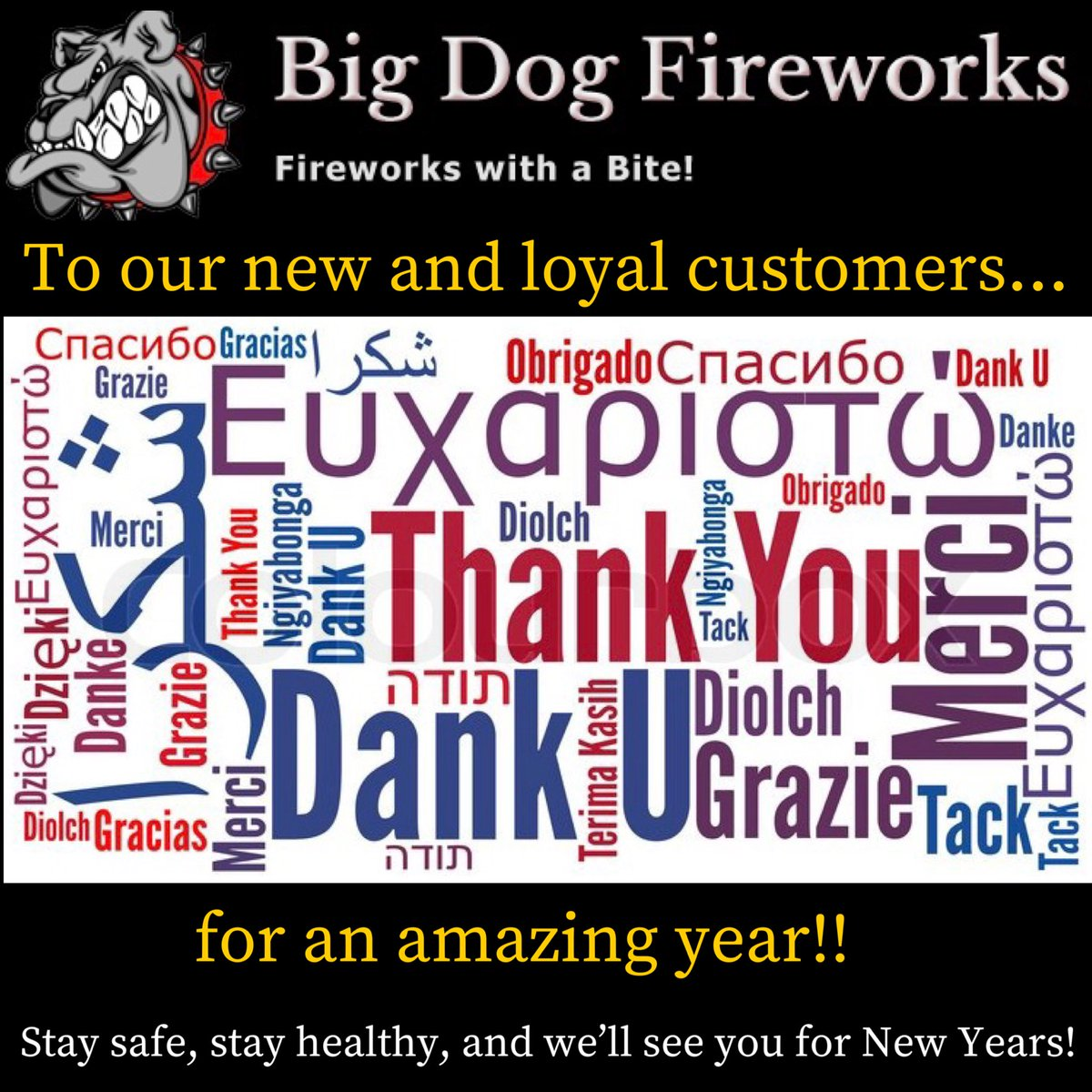 THANK YOU! to everyone who supported us this year and Thank You to all our operators who made this year Awesome! See you all for New Years! . #bigdogfireworks #bigdog #bdf #fireworks #fourthofjuly #july4th #4thofjuly #fireworks2020 #instagood #worldclassfireworks #thankyou