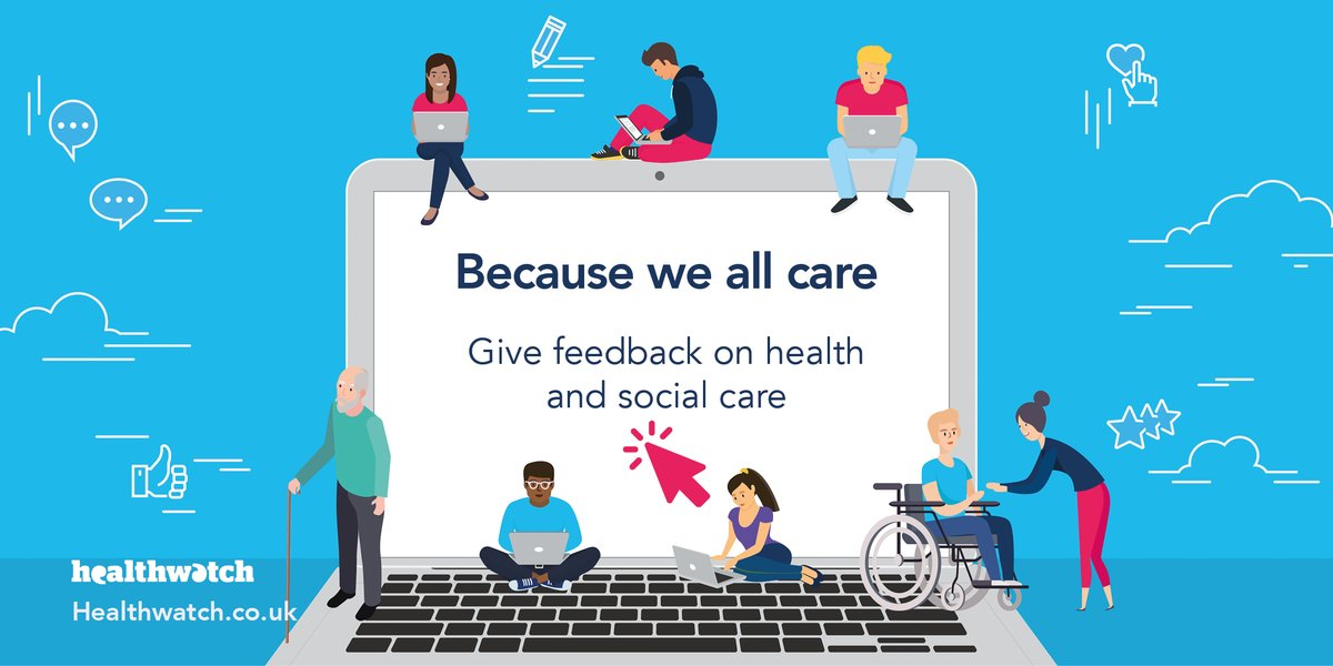 In partnership with @CareQualityComm, we're proud to launch our new campaign #BecauseWeAllCare, which aims to encourage more people to share their views with us about their health and social care. Learn more about how you can get involved here: bit.ly/2BCFWkj