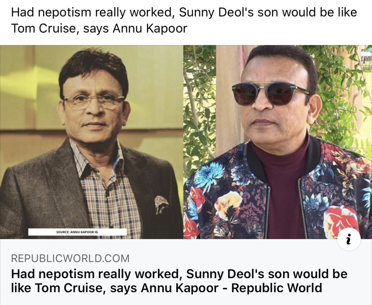 Can't agree more. Being related to someone influential may help in getting the initial break but subsequent success depends on the fact whether your work is appreciated on the larger platform. Problem isnt nepotism but gangism in film industry. <br>http://pic.twitter.com/fpFRiqR1HC