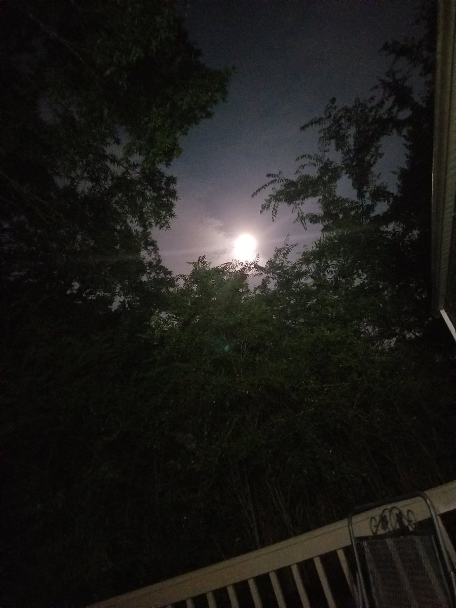 Another picture of the moon  #moonlight #MoonLovers #beautiful #Tennessee #PHOTOSpic.twitter.com/EgCzvgdnrr