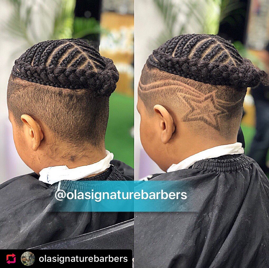 Book your appointment with @olasignature05 . Trust me you will never regret having a good haircut #barbershop #bopdaddychallenge #merrymen2 #whatwillfalzdo #figofreestylechallenge #30bg #davidoofficial #zlantaibile #nairamarley #instagood #instagram #instablog #ibbossnation #don