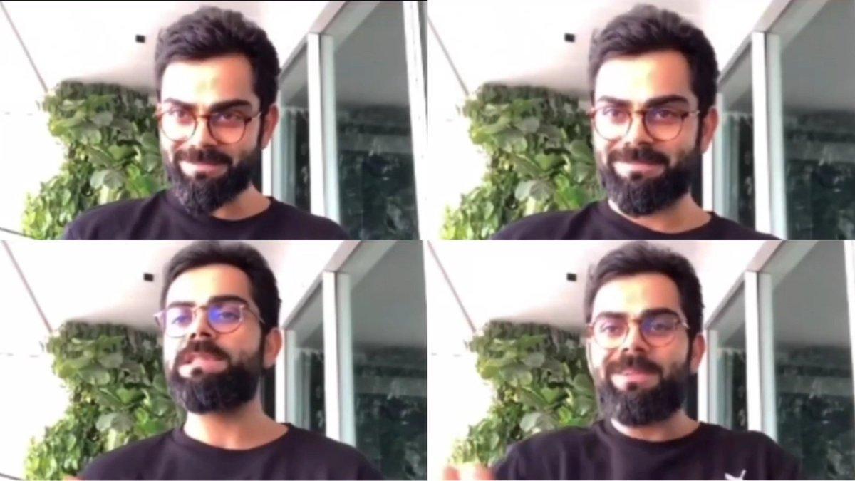 Long hair, Long beard    RT if you like new look of Virat Kohli! <br>http://pic.twitter.com/ZsR55jIct0