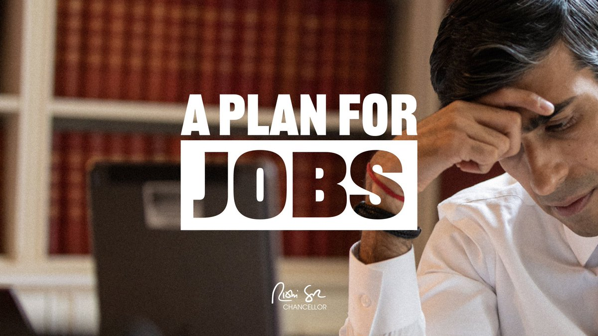 Today in our Summer Statement we will announce our bold, ambitious #PlanForJobs to move this country forward and tackle the tough times ahead.