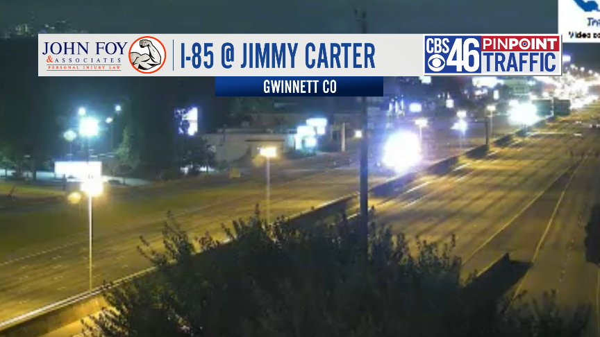 3:30 AM TRAFFIC ALERT - Injury crash investigation has I-85 NB closed past Jimmy Carter Blvd. Alternates are Buford Hwy or Peachtree Industrial. #cbs46 https://t.co/wAvZCy1T6v