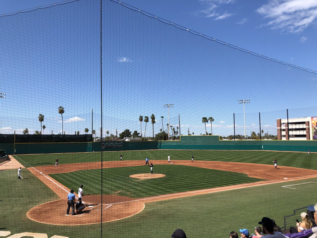 @GCU_Baseball I greatly miss evenings and afternoons at Brazell Field, cheering on our @GCU_Baseball Lopes to victory! #ViewsFromBrazell #LopesUp #GCU 🦌⚾️💜 https://t.co/GBYrGCYybH