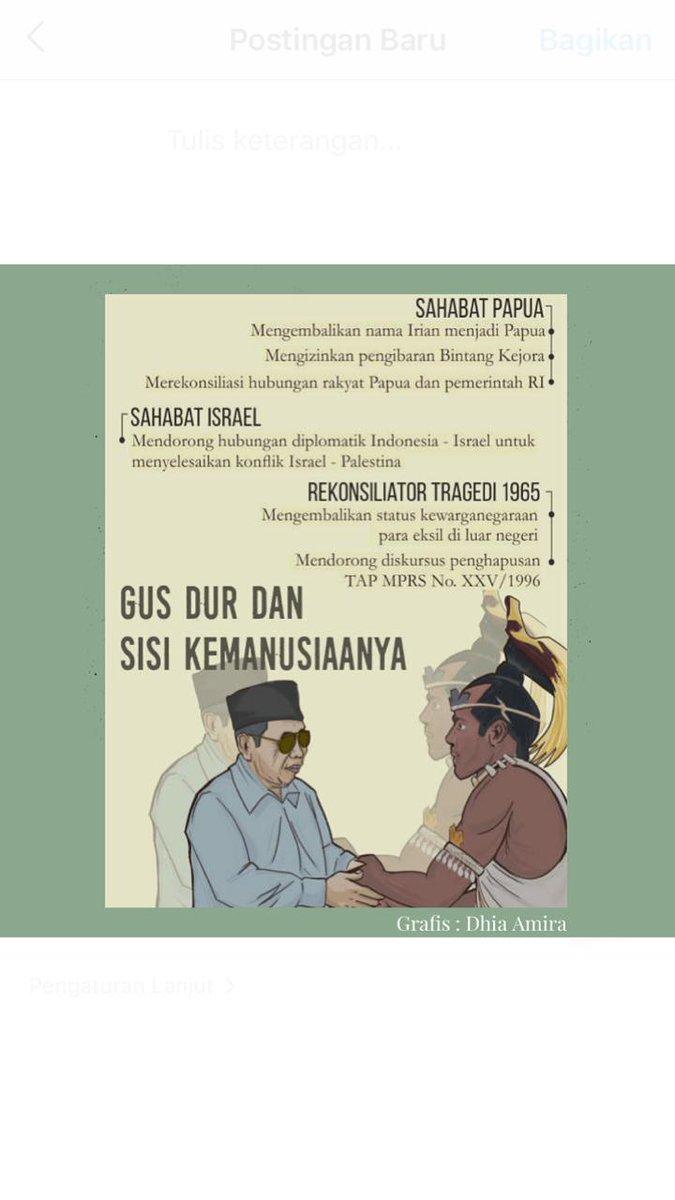 Gus Dur dan Sisi Kemanusiaannya  #gusdur #presiden https://t.co/EVyWl289OX