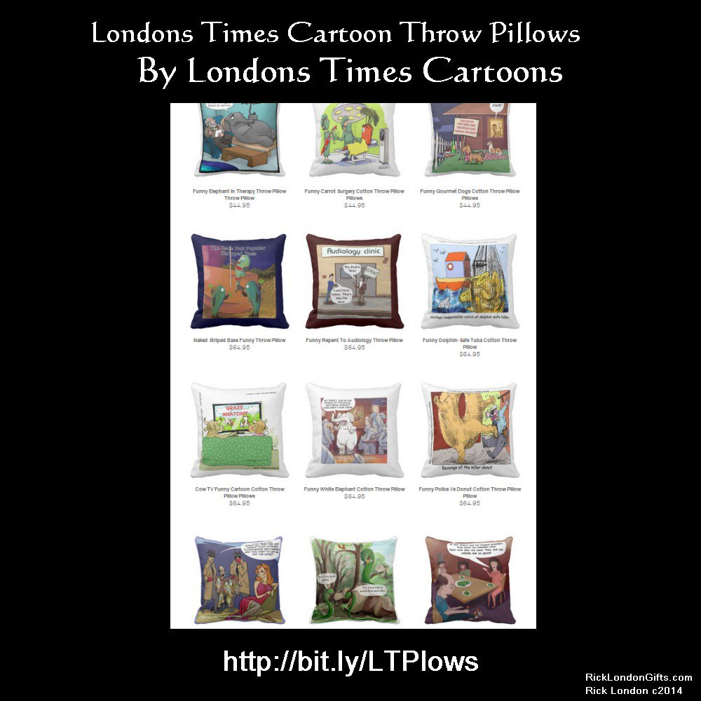 People love @LTCartoons #throwpillows at everyday low prices Deals you won't believe These Google #1 ranked #Pillows @zazzle have pleased many happy customers 100% #guaranteed or a full #refund #homedecor #homedesign #gift #gifts #worldwideshipping http://bit.ly/LTPlowspic.twitter.com/4AbWrluHwc