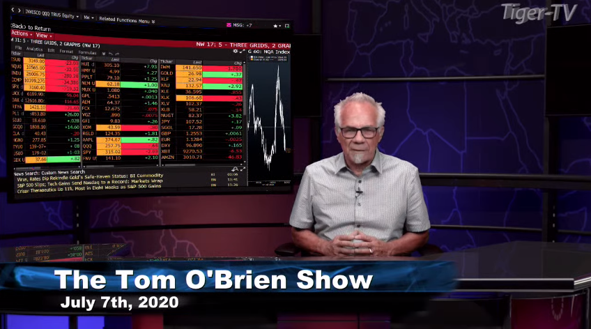 Tom O'Brien hosts the Tom O'Brien Show for Tuesday afternoon and discussed $ES $NQ $GC $WMT $INDU $QQQ and more! #Learntotrade #TFNN #Financialeducation #StockMarketNews #TradingView #GoldReport #MarketInsights #StocksToTrade https://youtu.be/IRt9G1pc8Mopic.twitter.com/lbbvnzCDO1