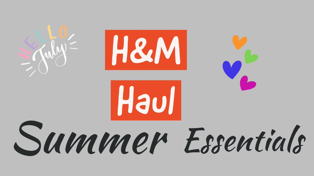 H&M summer haul https://t.co/ehdKEvDKHp @hm #shopping #WednesdayThoughts #haul #fashionblogger #over40 #summer #style #womensfashion https://t.co/RUSnekFXrG