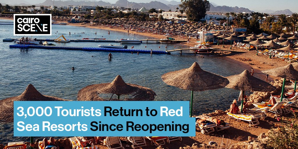 Just in the first week alone since travel restrictions eased on July 1st, the Red Sea resort towns of Sharm El-Sheikh and Hurghada received over 3,000 tourists between them.  https://t.co/1wbcQxABEm https://t.co/5mfSHZG4ZV