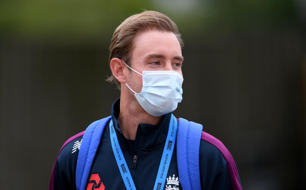 Stuart Broad-bio secure environment