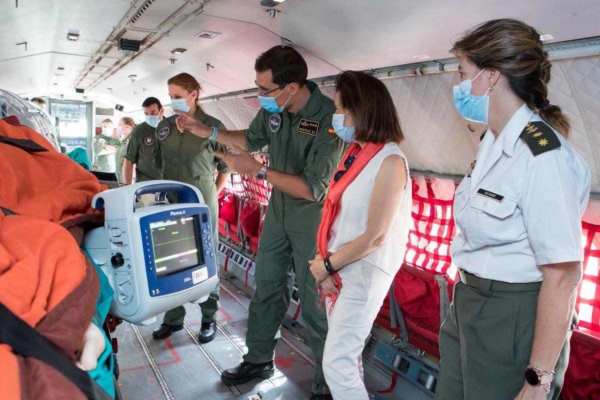 Las Fuerzas Armadas están preparadas para actuar en 24 horas si se dieran rebrotes de la pandemia. #EsteVirusLoParamosUnidos #JuntosPorUnFuturoMejor https://t.co/8IMSKP3vqC https://t.co/ELoUfDQbFd