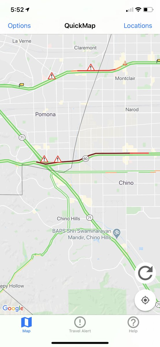 Image posted in Tweet made by Caltrans District 8 on July 8, 2020, 12:53 pm UTC