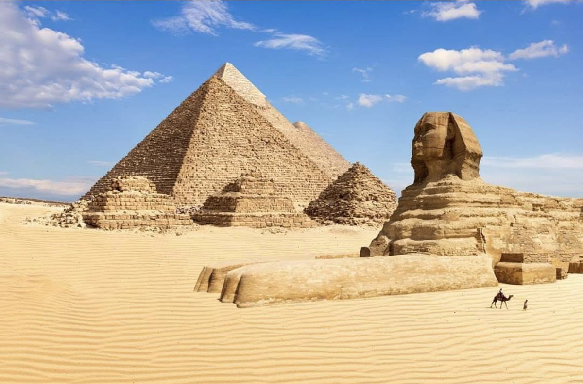 Vocês também estão usando a quarentena para fazer cursos bem aleatórios, que nunca tiveram tempo de fazer? Acabo de concluir um sobre a necrópole egípcia de Gizé. https://t.co/aENv2cn2tb