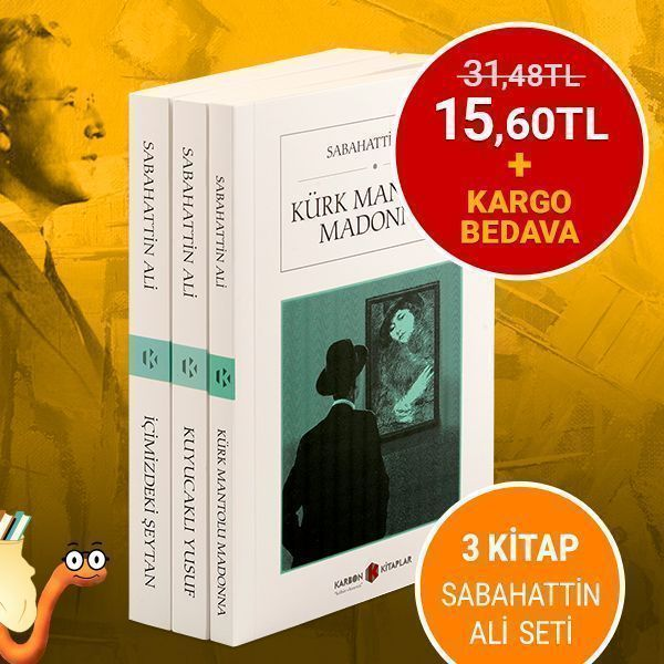 Sabahattin Ali'nin en sevilen üç eseri bedava kargo avantajıyla sizleri bekliyor! 😍 📚 Hemen satın almak için👉 https://t.co/NKAZMoM1bc #kitap #kitapyurdu @KarbonKitaplar https://t.co/VWUxX9QevM