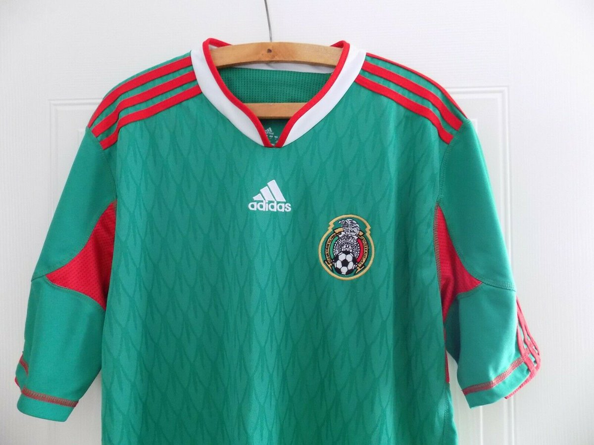 2010 World Cup Adidas Mexico Camiseta Football Mens Soccer Jersey Shirt Top XL http://www.ebay.co.uk/itm/223518332002 …pic.twitter.com/xncDlVFcEu