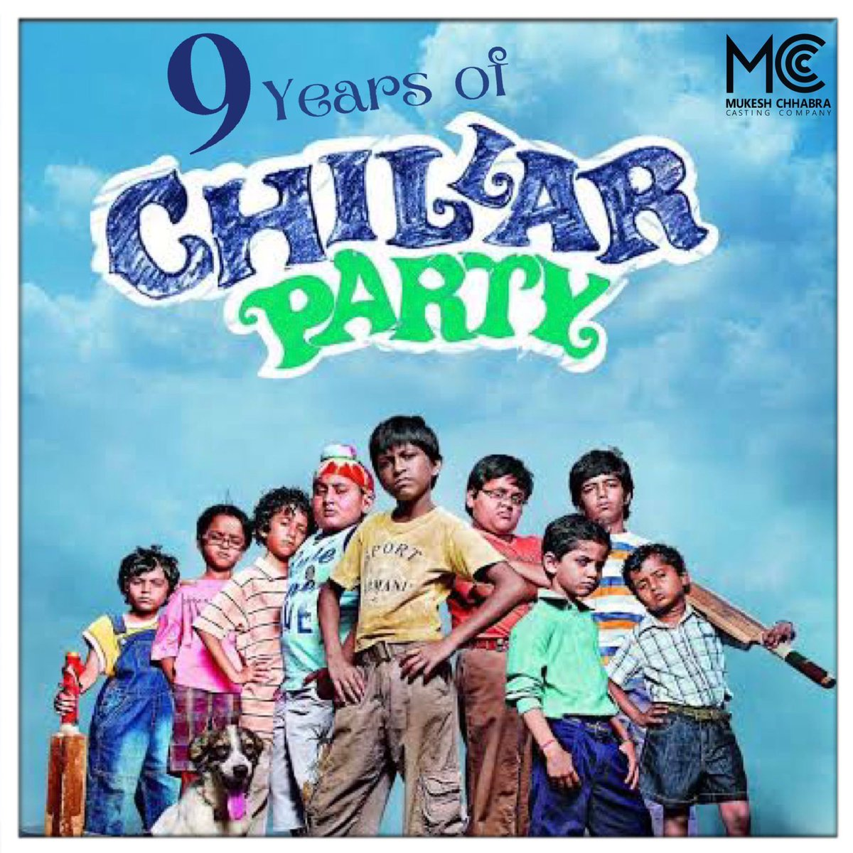 #9YearsOfChillarParty: All young talented kids squad who won the National Award for Best Children's Film (2011). #ChillarParty is jointly produced by @UTVFilms /@SKFilmsOfficial & marks the directorial debut of #VikasBahl & #NitishTiwari who later made Dangal, Super30, Queen etc. https://t.co/2G2UuILXMK