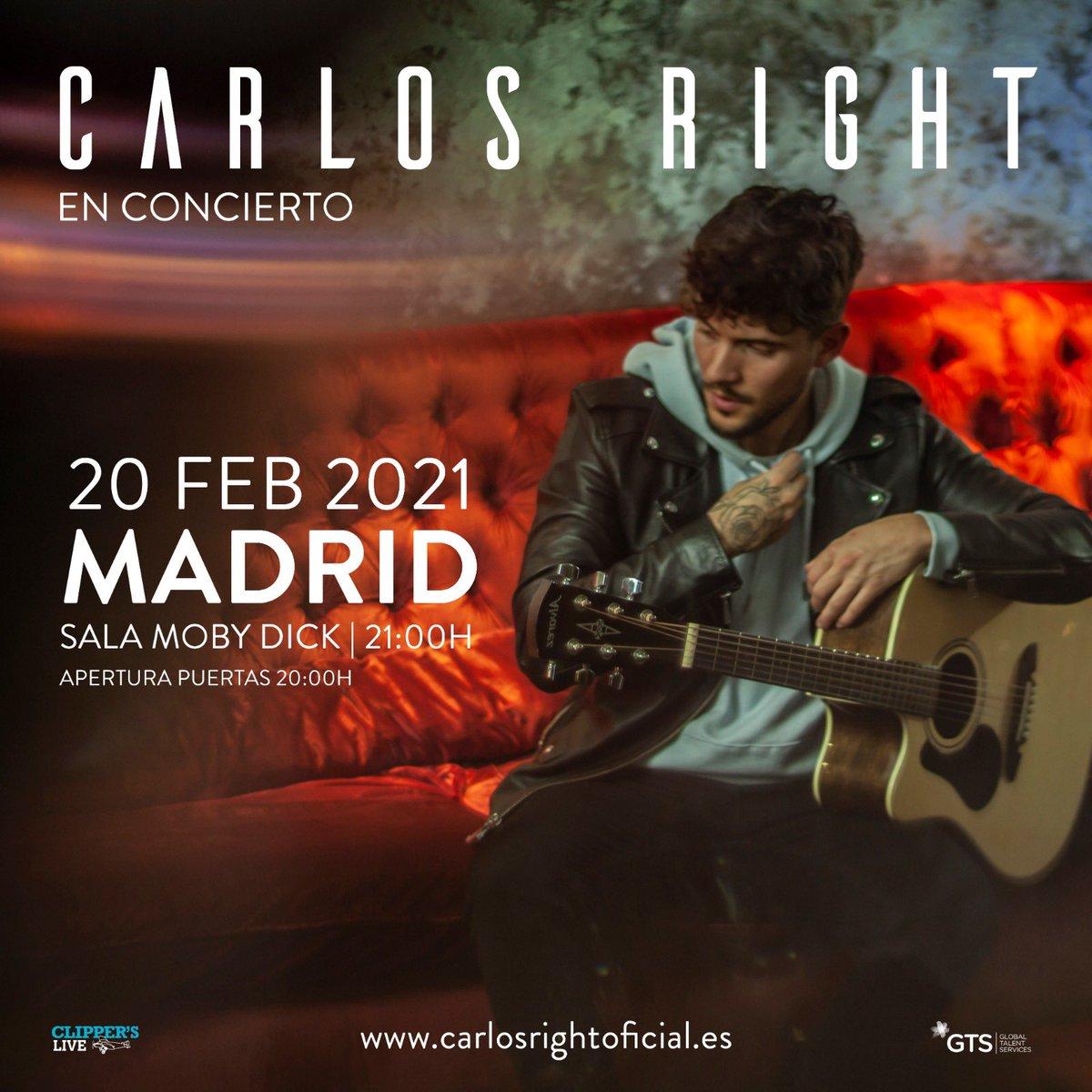 Madrid qué ganas de enseñaros en directo la nueva música que vendrá durante estos meses...❤️